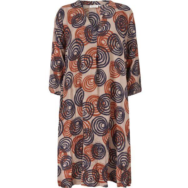 NIBIA DRESS, SAFRAN, hi-res