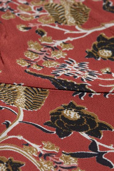NINKI DRESS, RED OCH ORG, hi-res