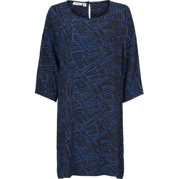 NITASSA DRESS, ROYAL BLUE, hi-res