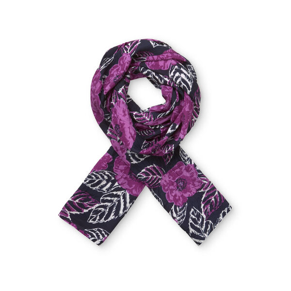 ALONG SCARF, HYACINTH, hi-res