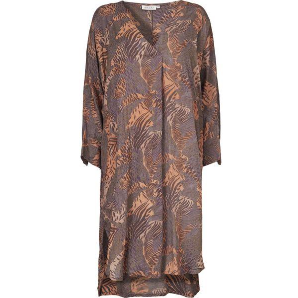 NINON DRESS, BRONZE, hi-res