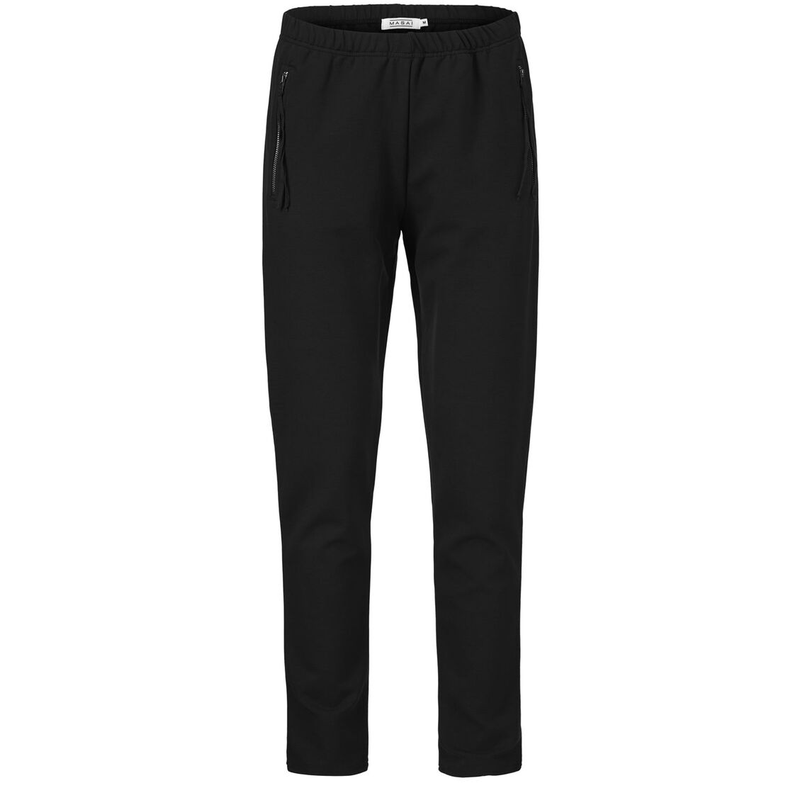 PERRY JERSEY TROUSERS, Black, hi-res
