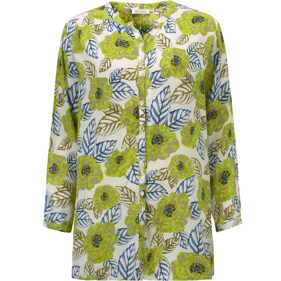 IDINE BLOUSE, LIME, hi-res