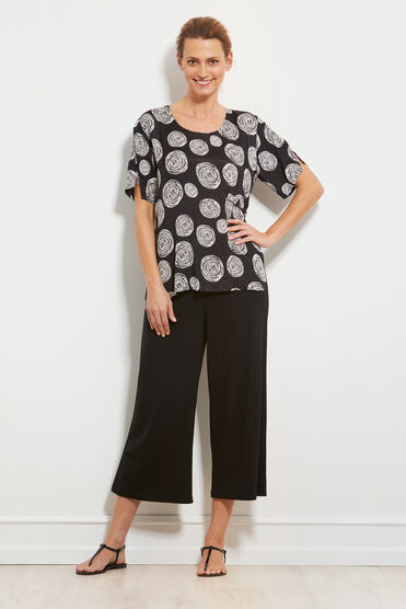 DORISSA TOP, BLACK, hi-res