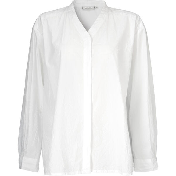 Idaka blouse, WHITE, hi-res
