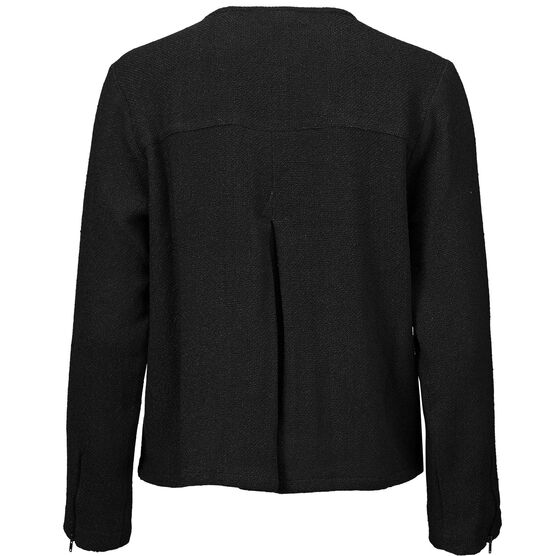 JOHANNA JACKET, BLACK, hi-res
