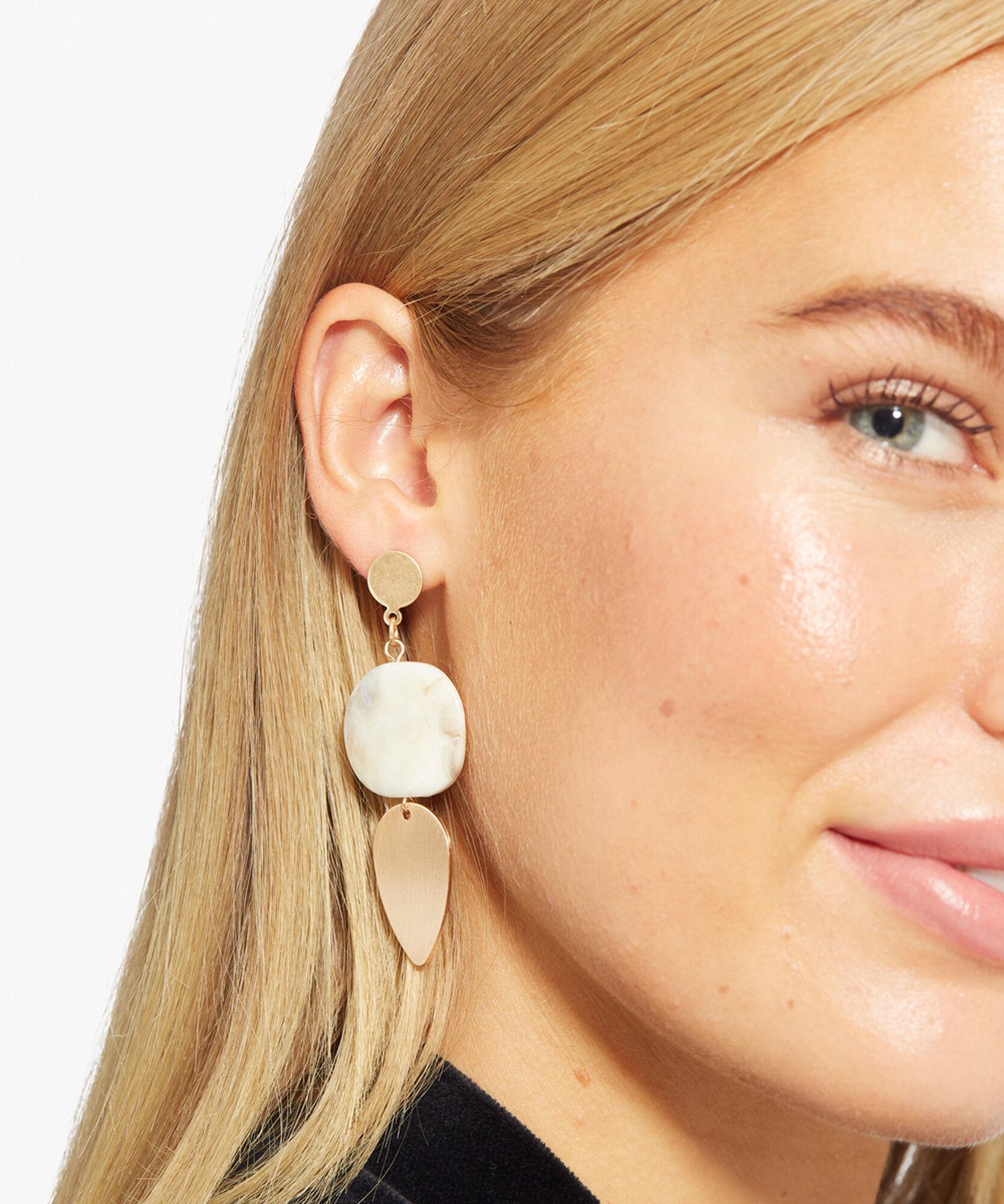 RYLIE EARRINGS, Natural, hi-res