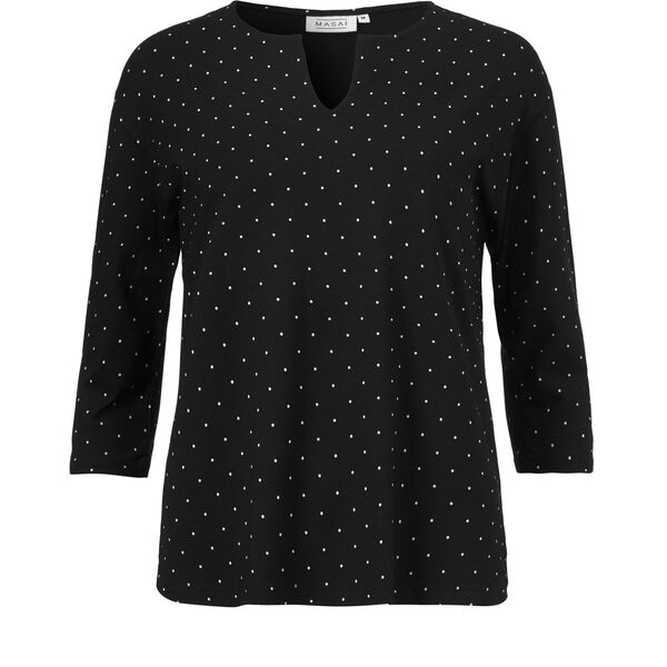DANNIE TOP, BLACK, hi-res