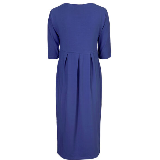 NIMMA DRESS, ROYAL BLUE, hi-res