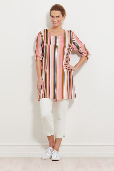 GEALMA TUNIC, BLUSH, hi-res