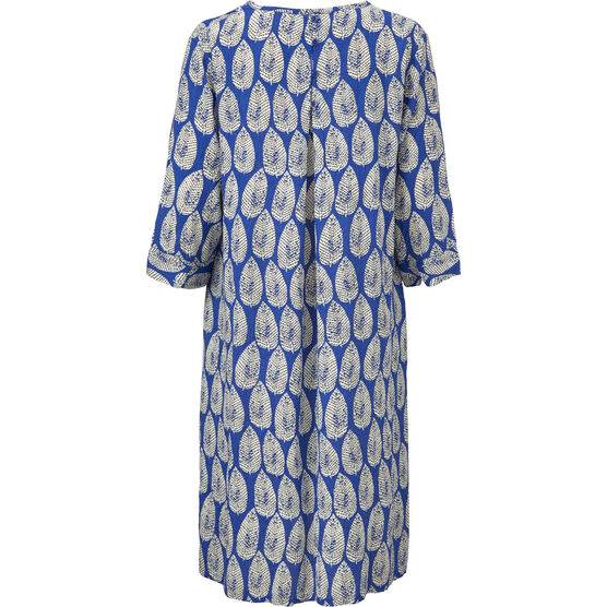 NARI DRESS, GREEK BLUE, hi-res