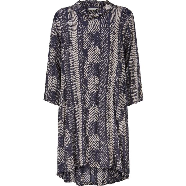 GLORIA TUNIC, NAVY, hi-res