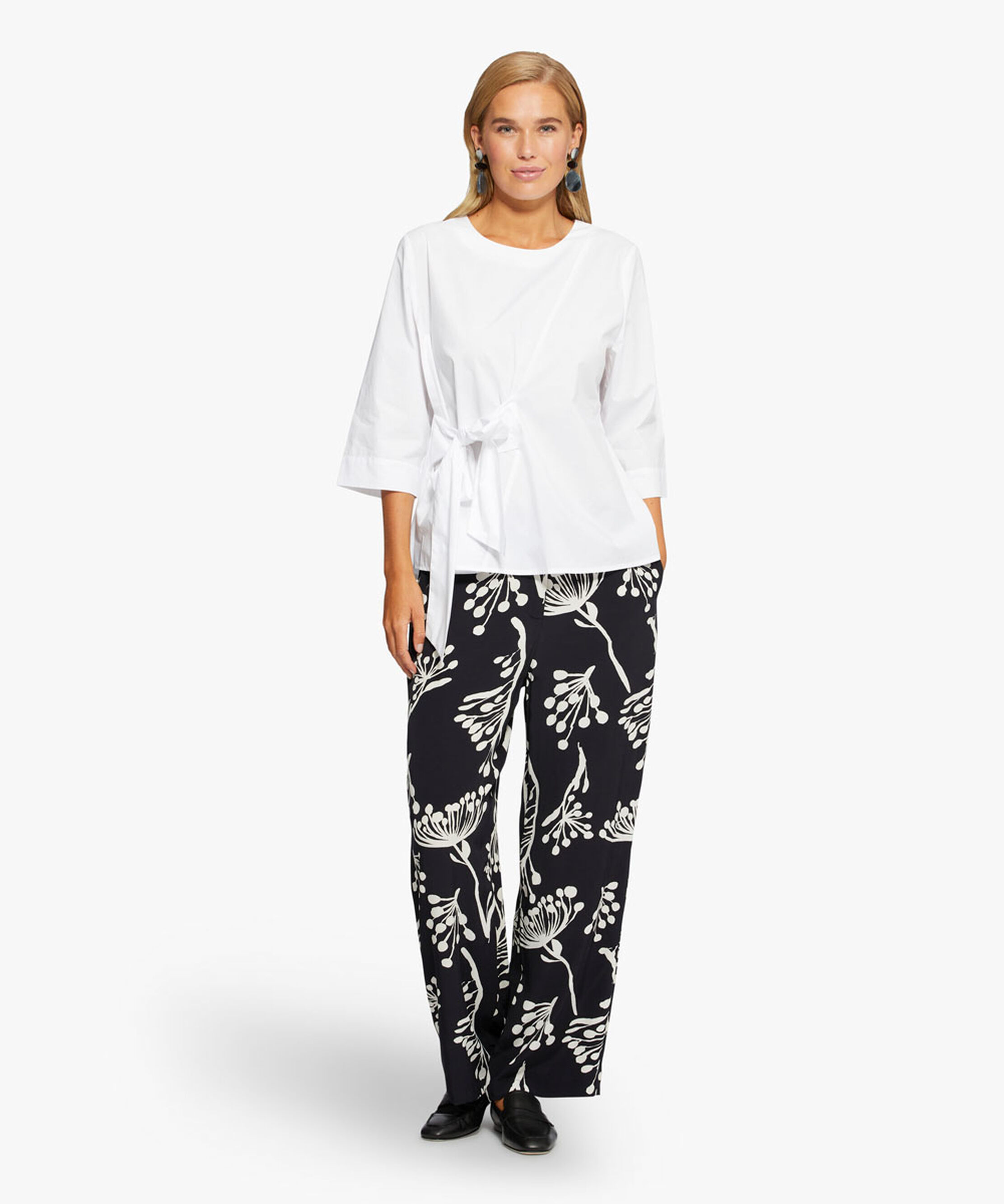PERINUA TROUSERS, Black, hi-res