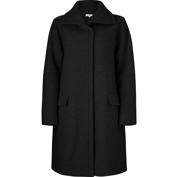 THELMA COAT, BLACK, hi-res