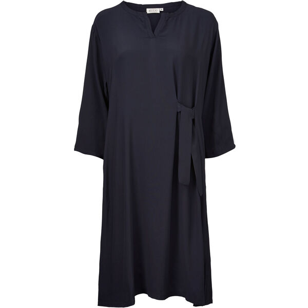 NANAI DRESS, NAVY, hi-res