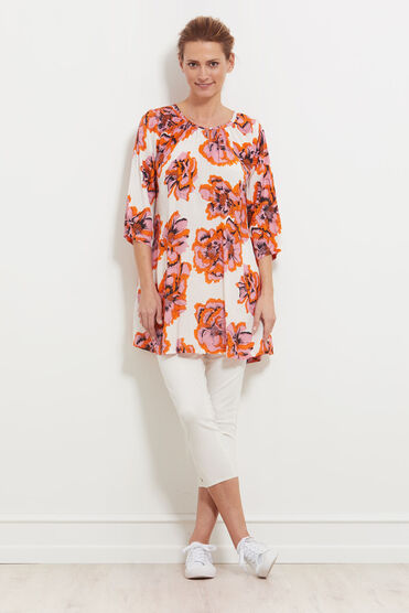 GALENA TUNIC, ROSE TAN, hi-res