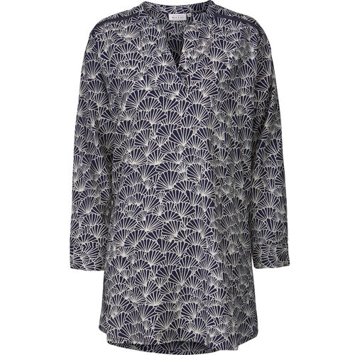 GRETCHEN TUNIC, NAVY, hi-res