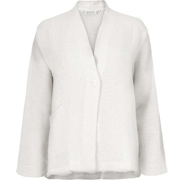 JACOBIS JACKET, CREAM, hi-res