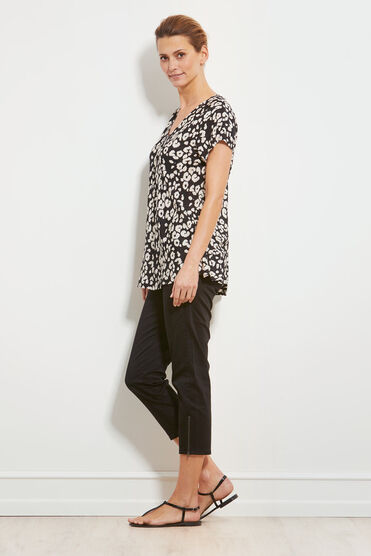 KAZA TOP, BLACK, hi-res