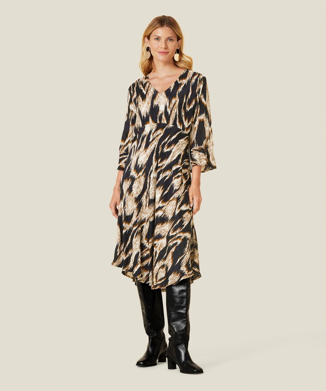 NITA DRESS, Monk's Robe, hi-res