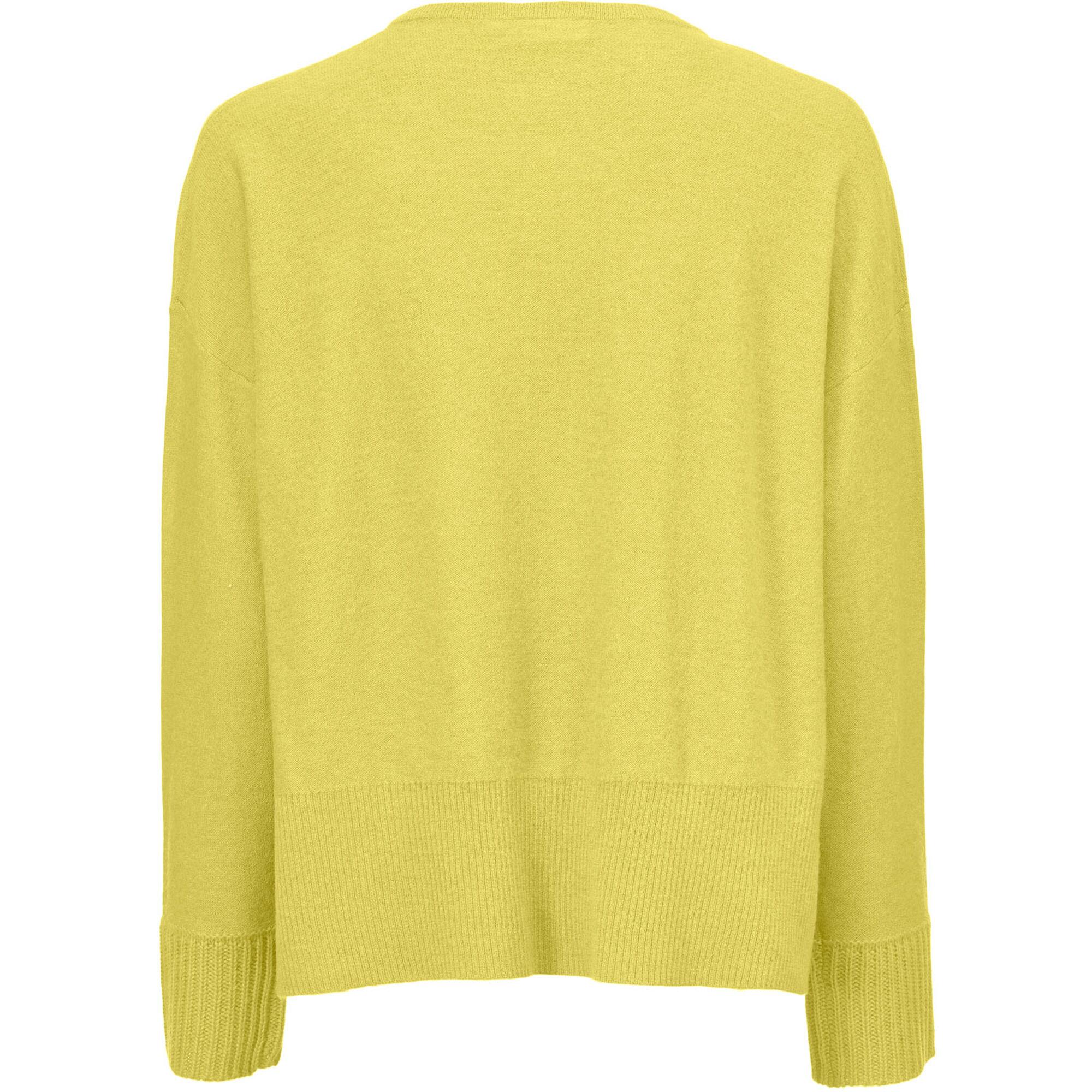 LEANN CARDIGAN, Oil Yellow, hi-res
