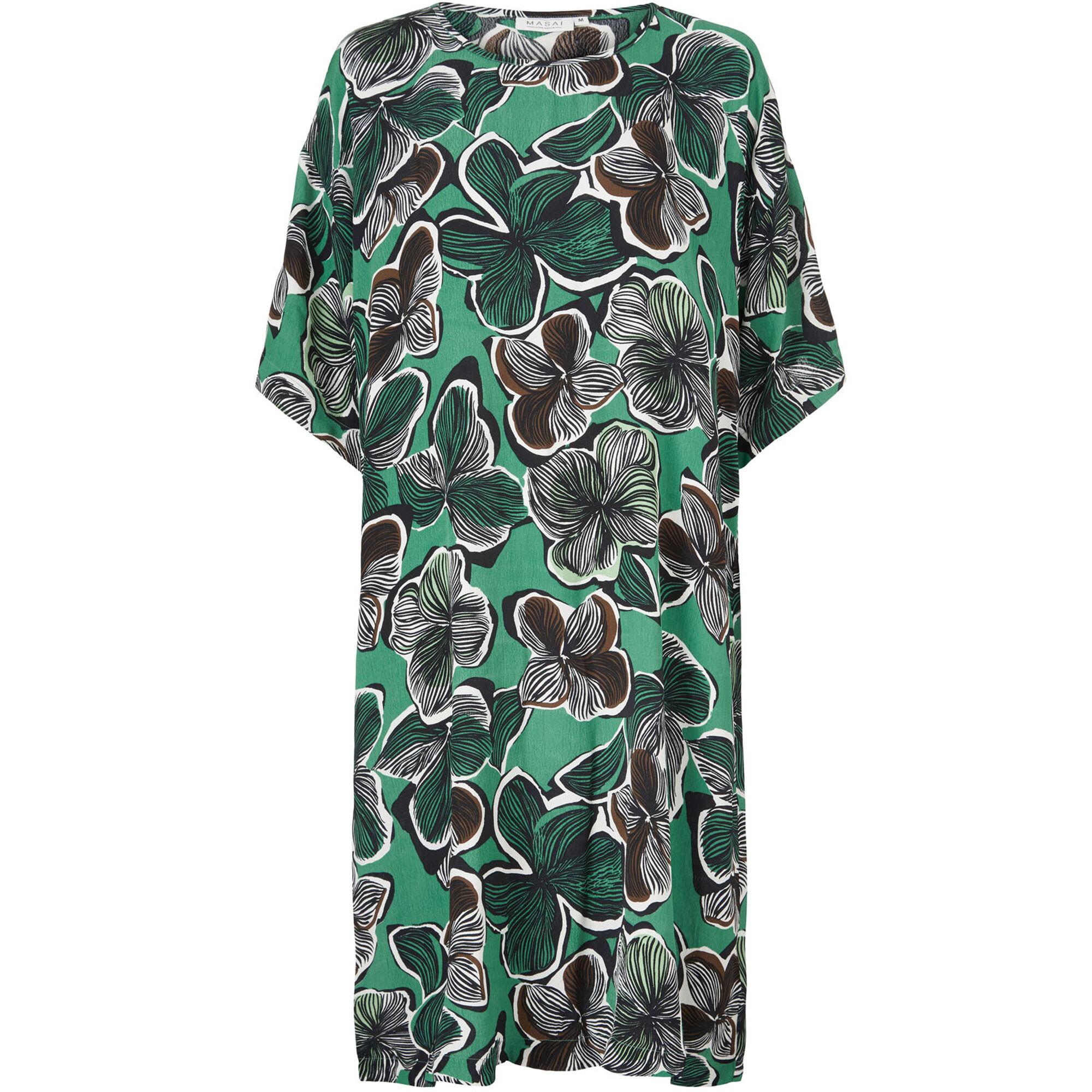 NABI DRESS, Bottle Green, hi-res