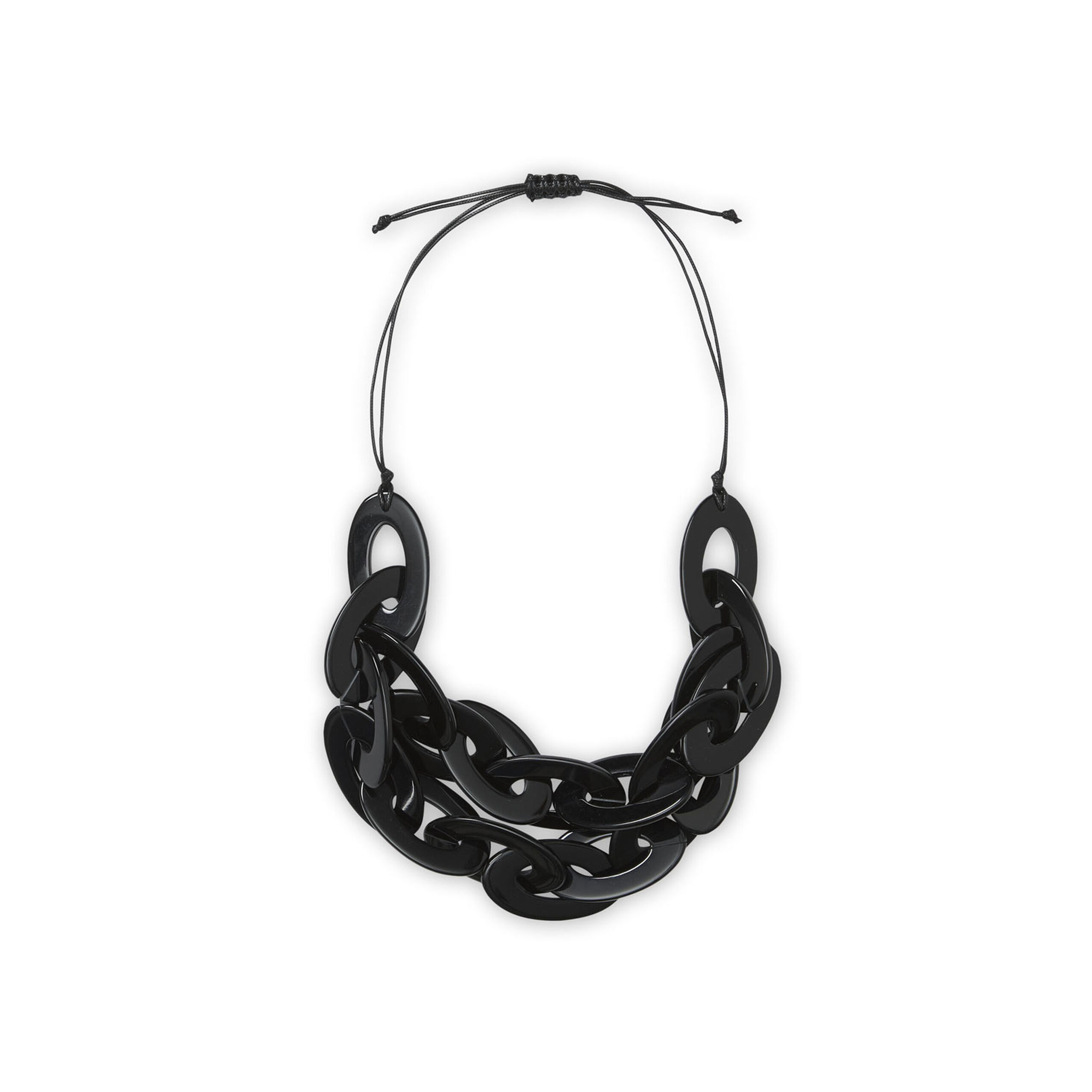 RUDDI NECKLACE, Black, hi-res