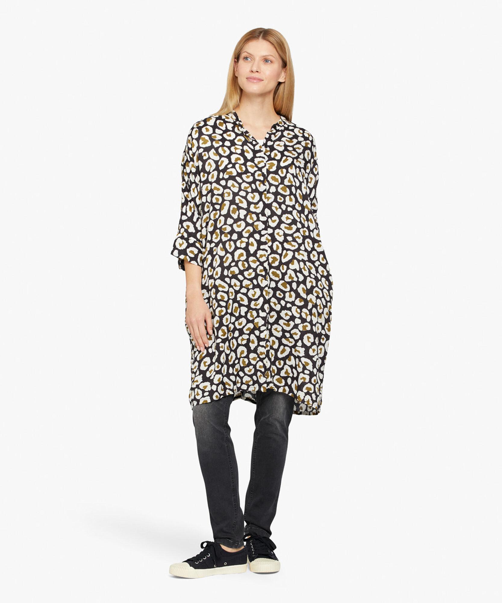 IOSETTA SHIRT DRESS, Beech, hi-res