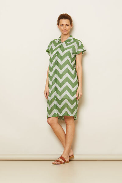 NELLA DRESS, Stone Green, hi-res