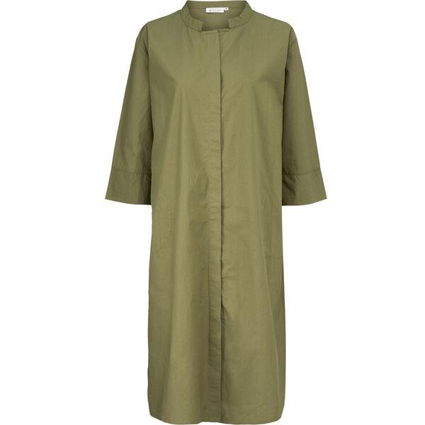 NIMES SHIRT DRESS, Burnt Olive, hi-res