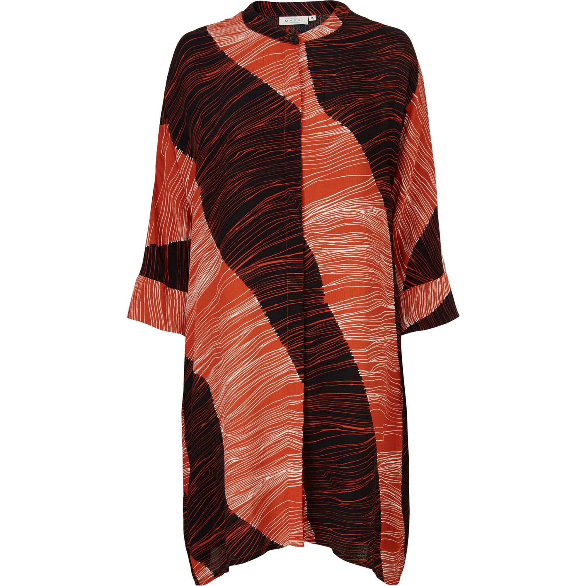 IOSETTA SHIRT DRESS, Burnt Ochre, hi-res