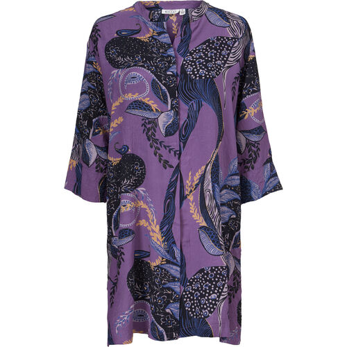 NIMES SHIRT DRESS, VIOLET ORG, hi-res