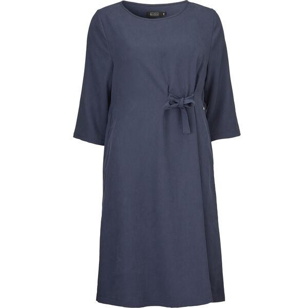 NONIA DRESS, DARK BLUE, hi-res