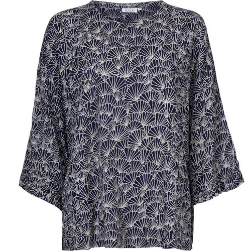 BARNA TOP, NAVY, hi-res