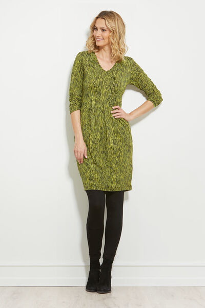 GRETHE TUNIC, LIME, hi-res