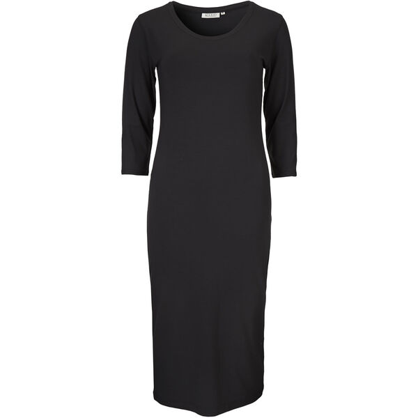ODETTE DRESS, BLACK, hi-res