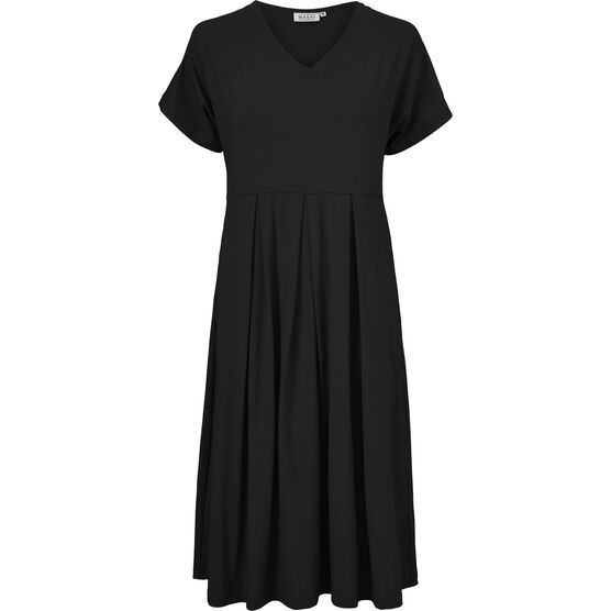 OCISA DRESS, Black, hi-res