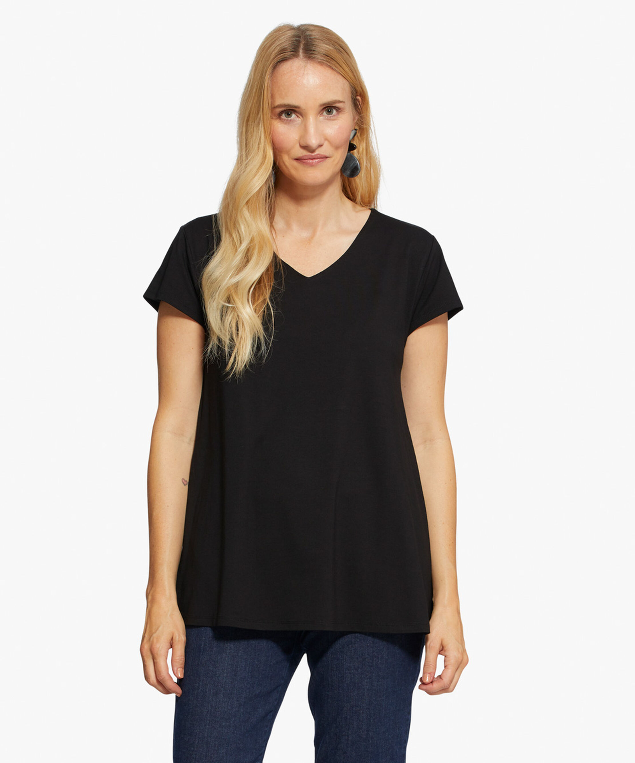 DIGNA TOP, Black, hi-res