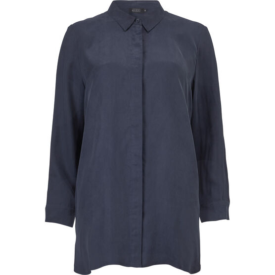INDISSA SHIRT, NAVY, hi-res