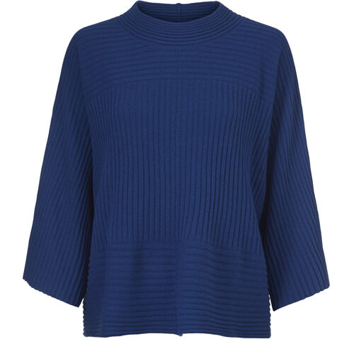 FRAN TOP, ROYAL BLUE, hi-res