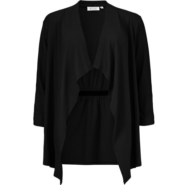 ILLANI CARDIGAN, BLACK, hi-res