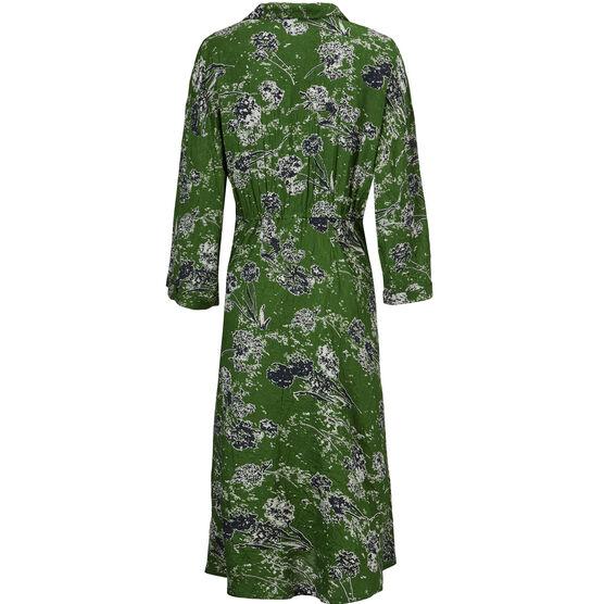 NIKAI DRESS, Garden Green, hi-res