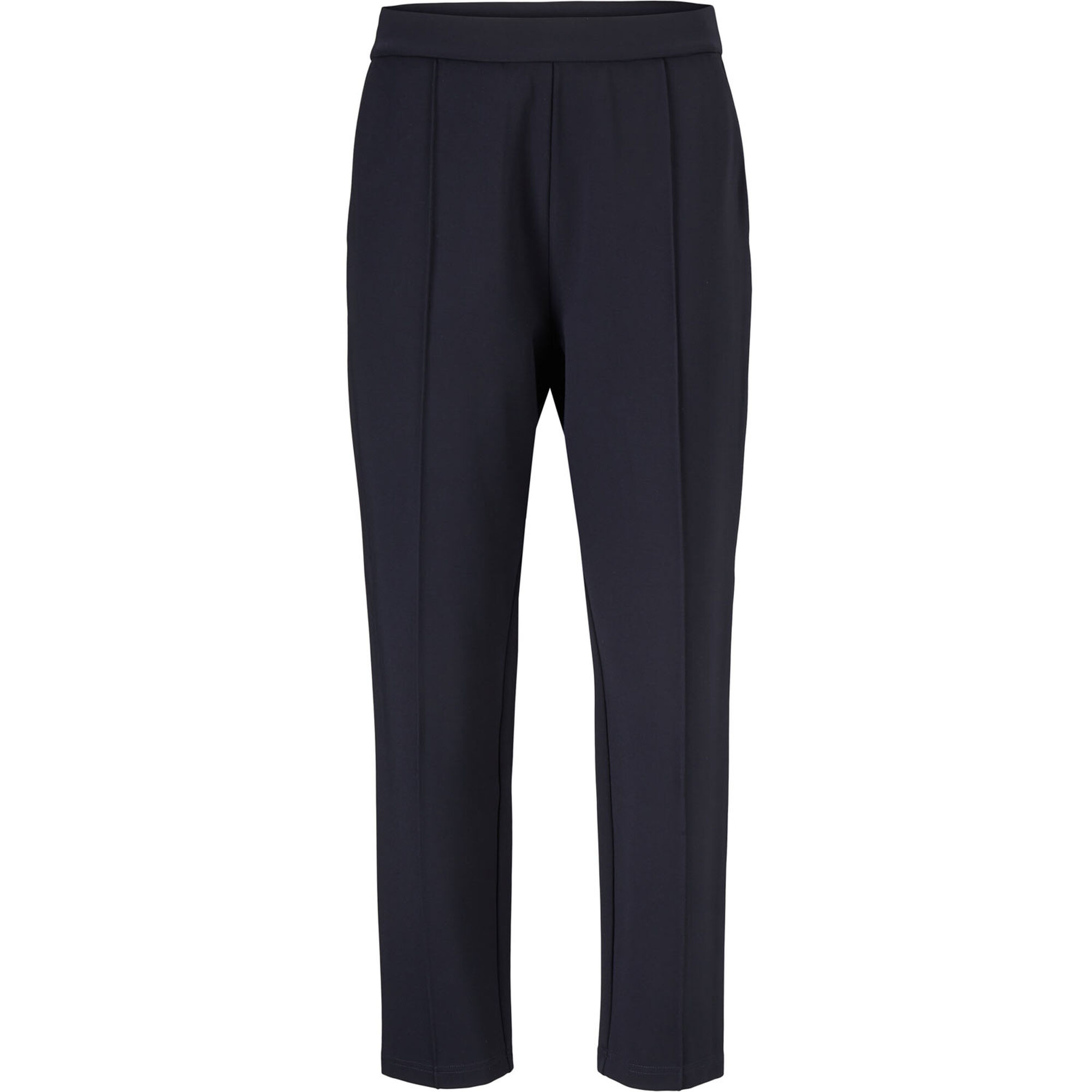 PAQUITA JERSEY TROUSERS, Navy, hi-res