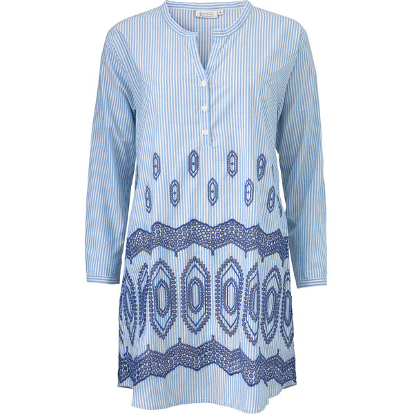 GEANNA TUNIC, GREEK BLUE, hi-res