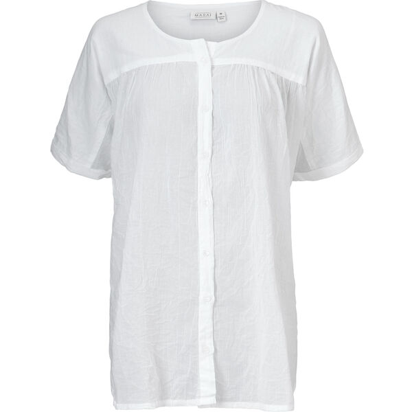 ILEEN BLOUSE, WHITE, hi-res