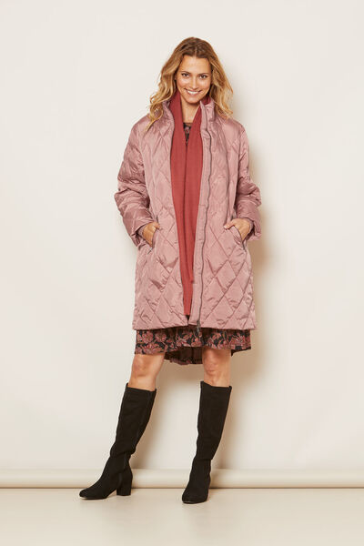 TONYA COAT, ASH ROSE, hi-res