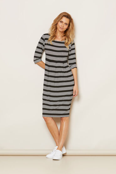 NICKY DRESS, BLACK, hi-res