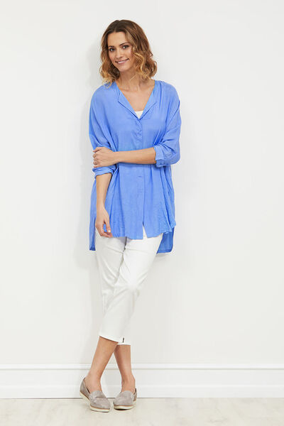 Idida blouse, BLUEBELL, hi-res