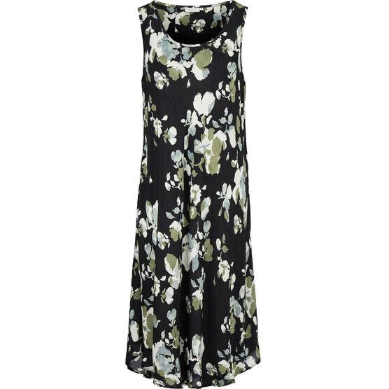 OCULLA DRESS, Black, hi-res