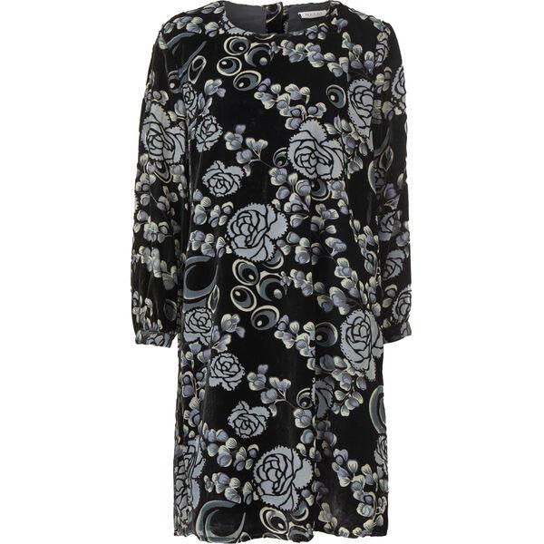 GLENYS DRESS, BLACK ORG, hi-res